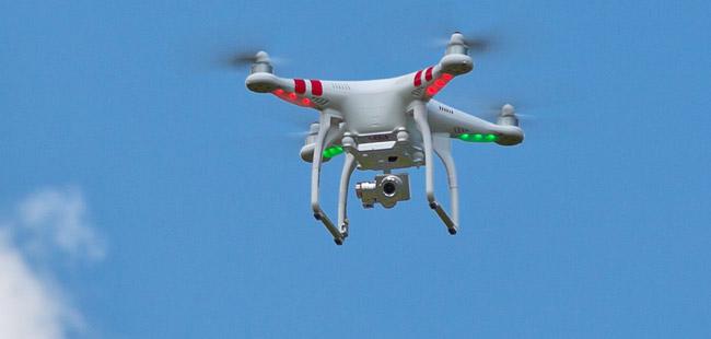 Drone in beslag genomen