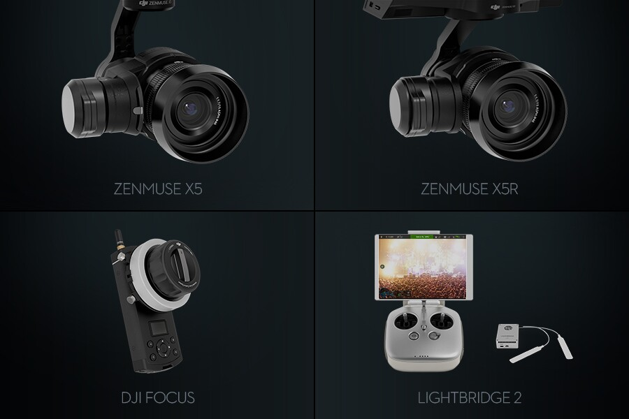 Zenmuse X5 Zenmuse X5R DJI Focus Lightbridge 2