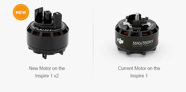 Dji upgrade inspire new motors dji forum for Dji phantom motor upgrade
