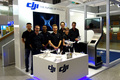 DJI Airport Booth at Frankfurt International - Everybody can fly