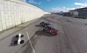 Drift + Slalom Racing Show