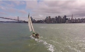 Visual-Aerials; Sailing in the Bay