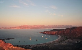 Sea of Cortez from above
