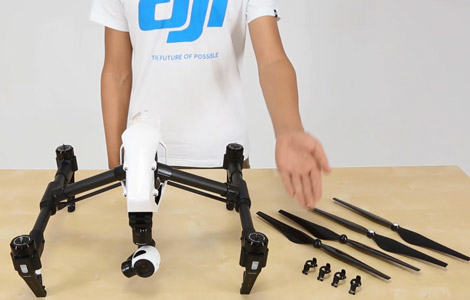DJI Inspire 1 - Unboxing and Preparing for Safe Flight