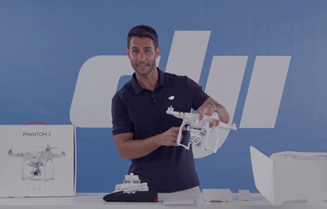 DJI - Phantom 3 Tutorial - Unboxing Part 1
