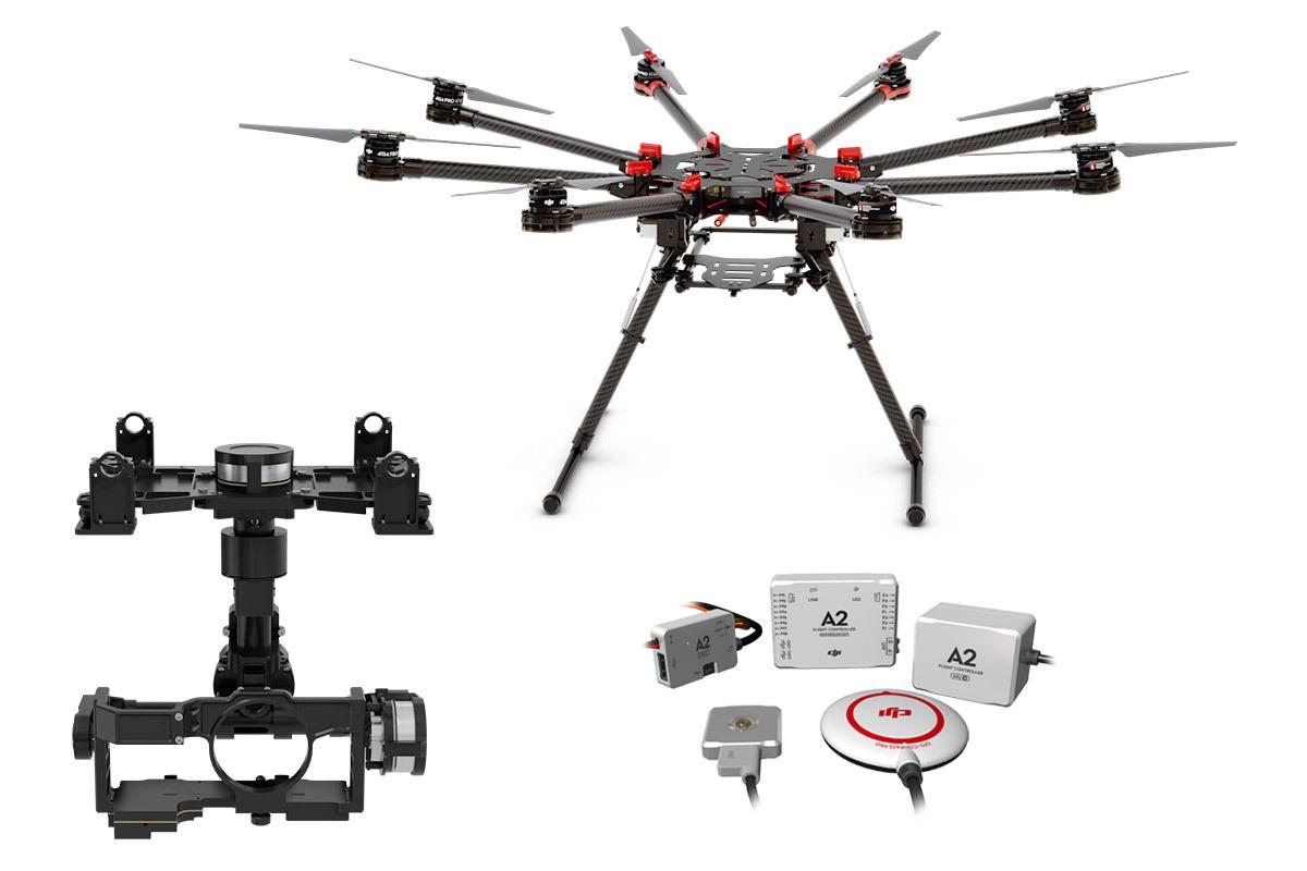 Spreading Wings S1000+ + A2 + Zenmuse Z15-GH4 (HD)