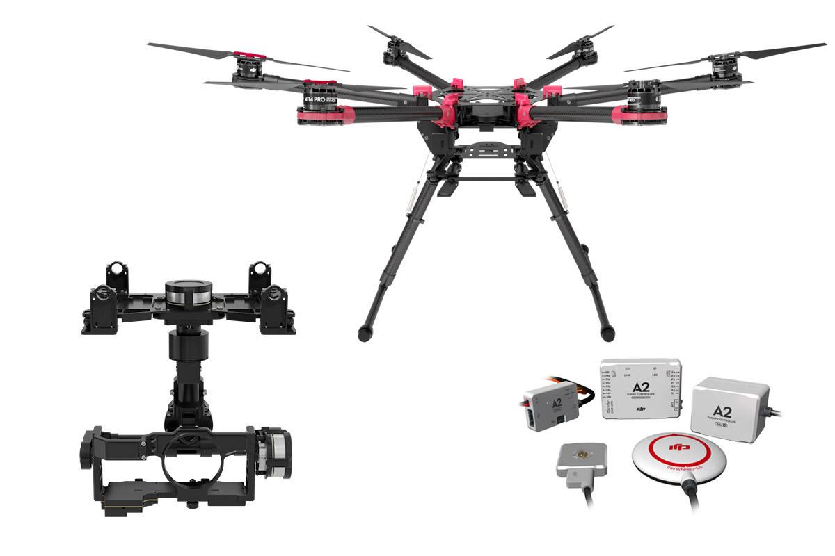 Spreading Wings S900 + A2 + Zenmuse Z15-GH4 (HD)